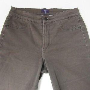 NYDJ Sz 8 Straight Leg Tan Jeans 28x32